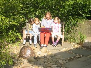 Entspannen im Steingarten