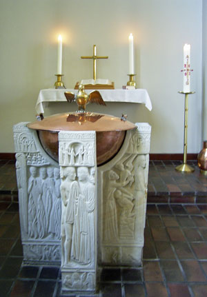 Taufstein Trinitatiskirche